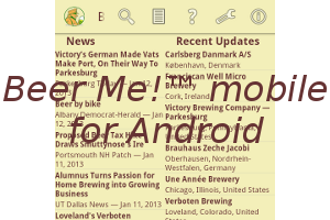 Beer Me!™ mobile for Android devices